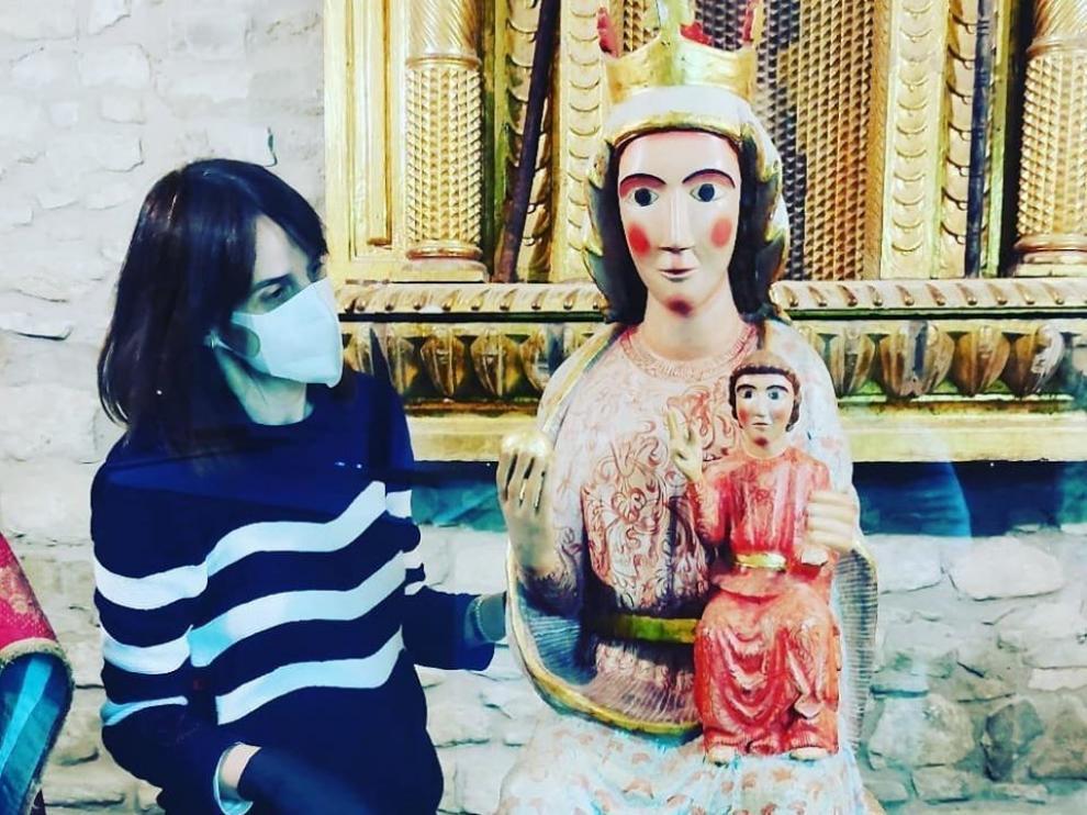 Las obras de la catedral de Roda, listas para las visitas