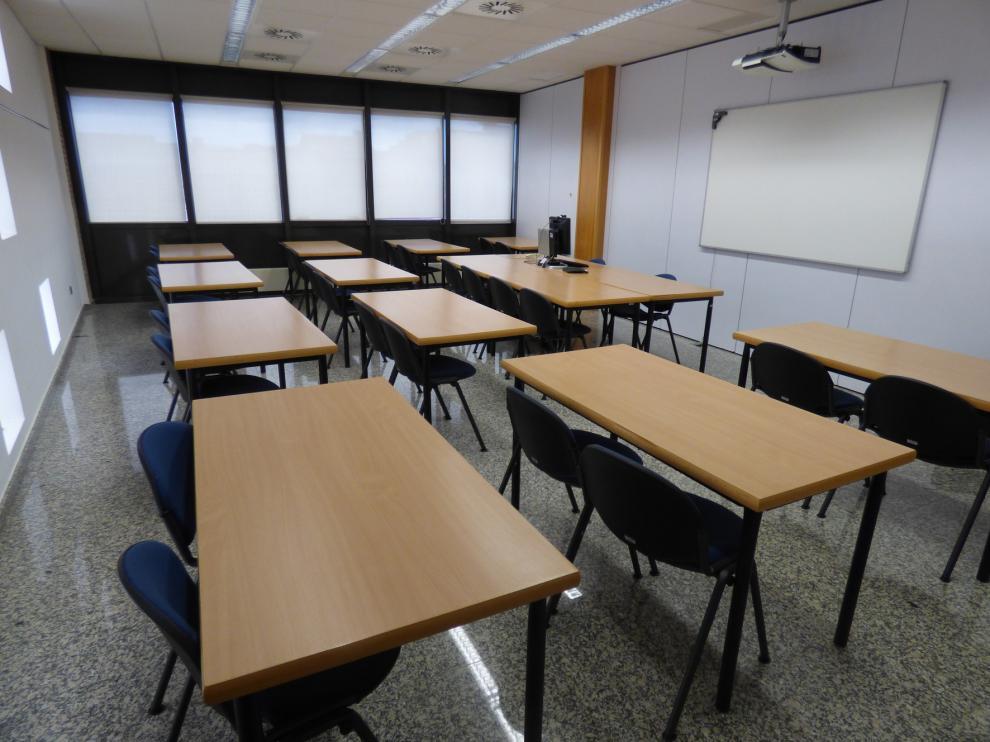 La Uned de Barbastro examina on line a estudiantes de grados y másteres