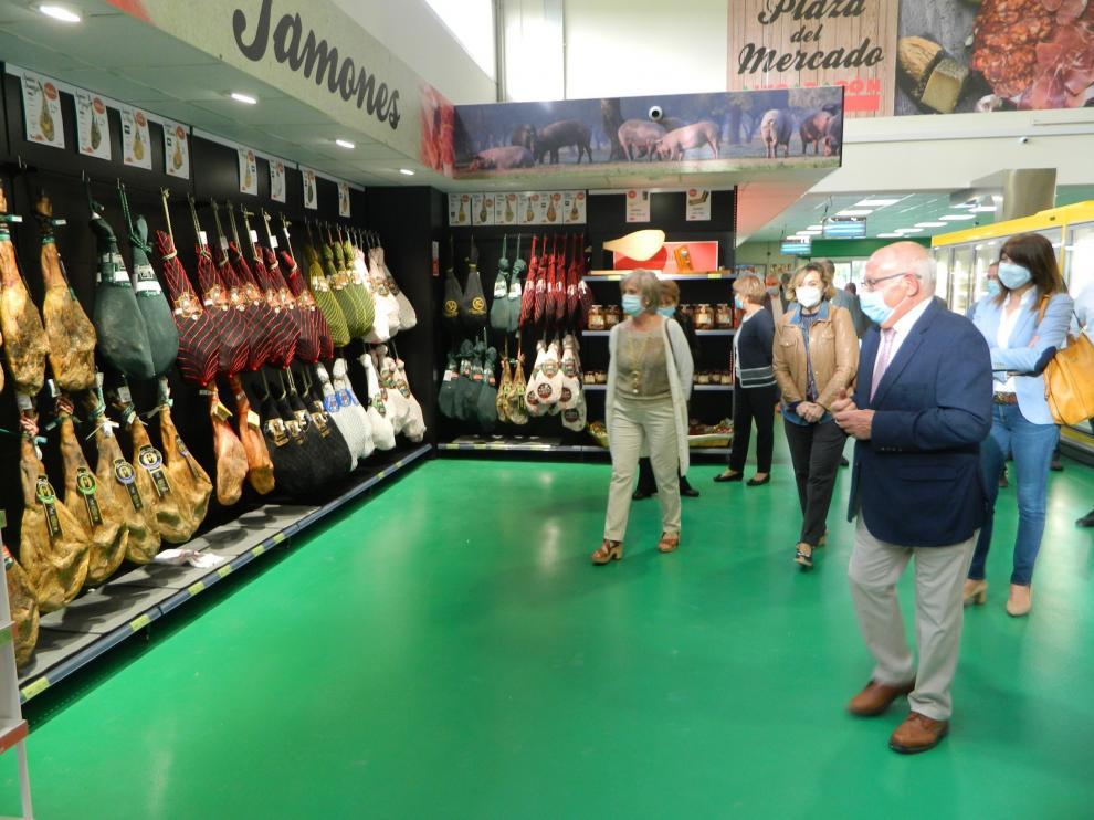 Cabrero e Hijos inaugura en Jaca uno de los mayores centros comerciales del Pirineo oscense