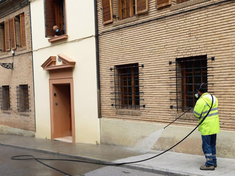 Desintervienen la residencia La Merced de Huesca tras 28 días sin positivos
