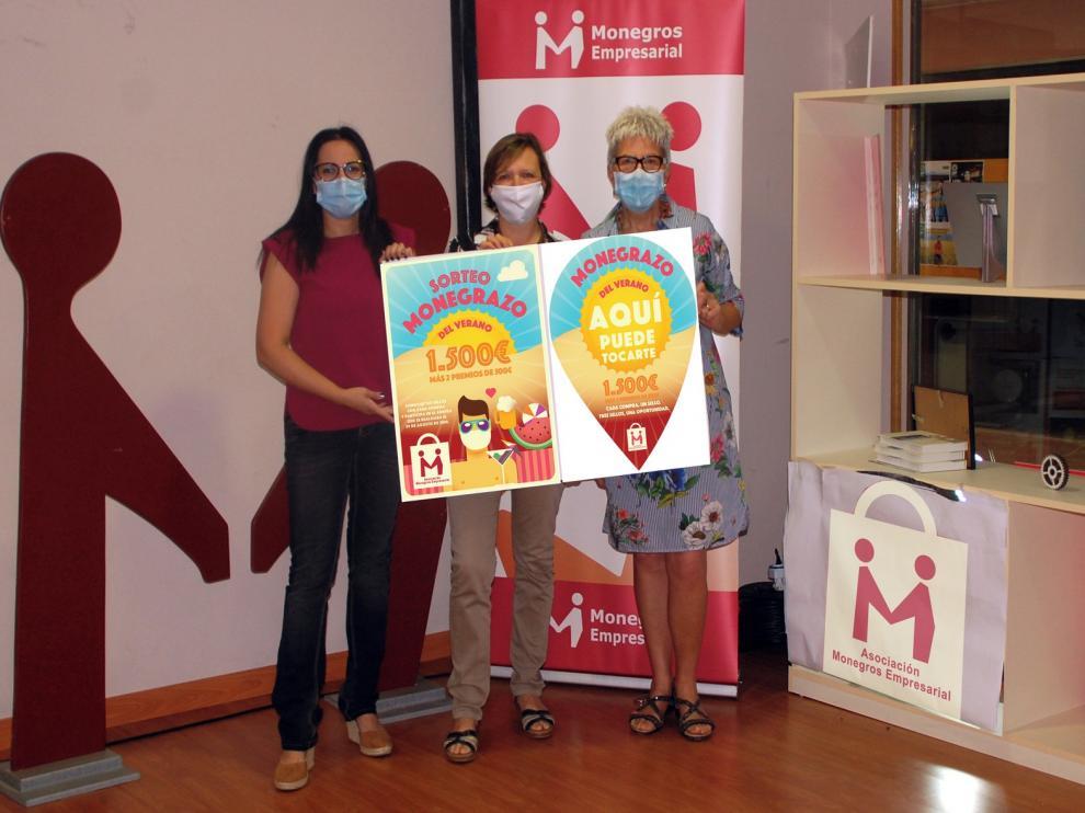 Campaña en Monegros en apoyo de las empresas de la comarca