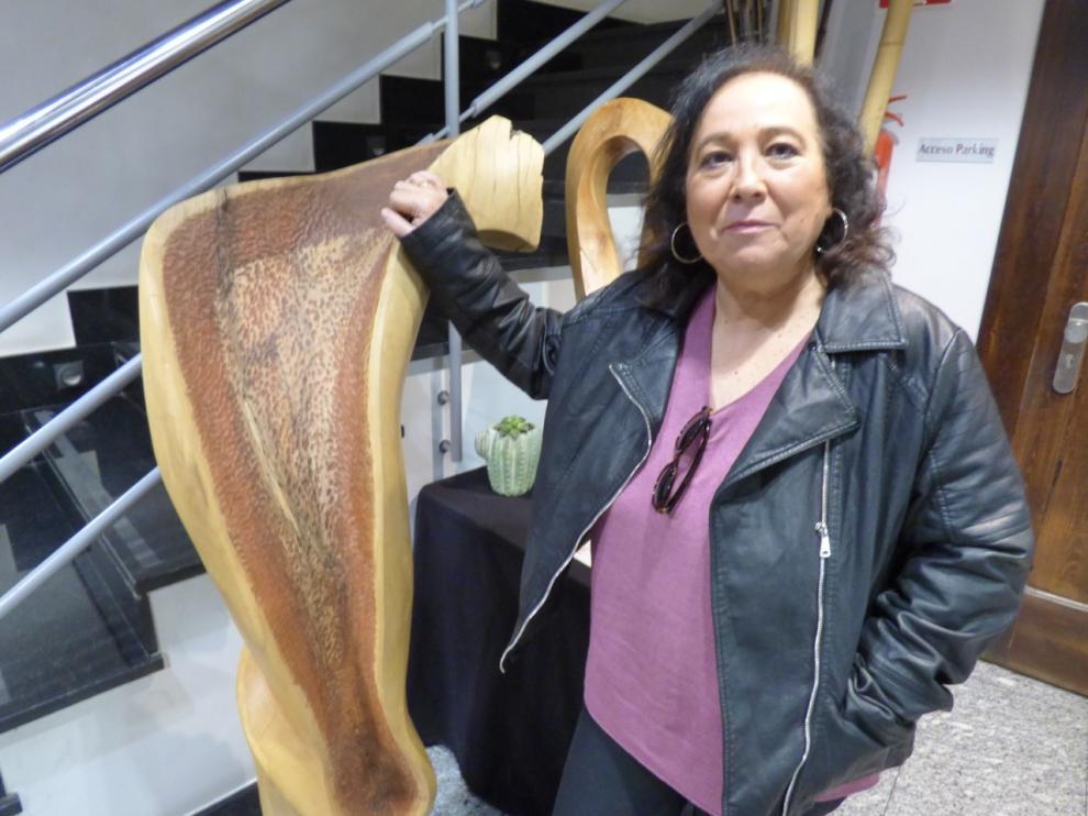 La escritora barbastrense Inés Plana, finalista del IV Premio Cartagena Negra