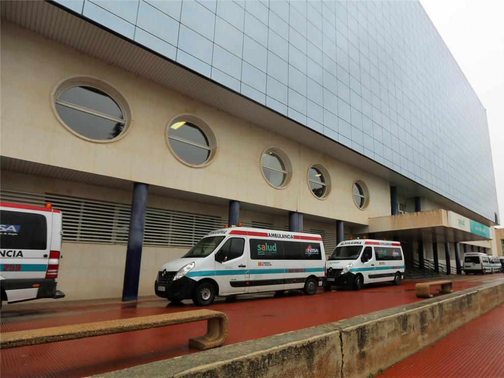 """El Hospital San Jorge da el alta a su último paciente con covid: """"Hoy vuelve a ser otro día de gran alegría para Huesca"""""""