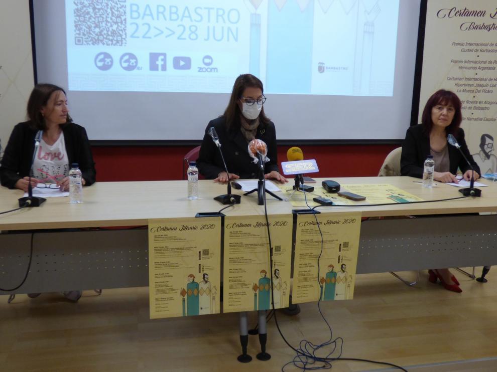Barbastro presenta los actos de su Certamen Literario con actos presenciales y on line