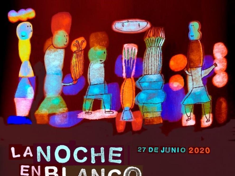 El Gobierno de Aragón celebra la Noche en Blanco con actuaciones de música, circo, danza y diversas exposiciones