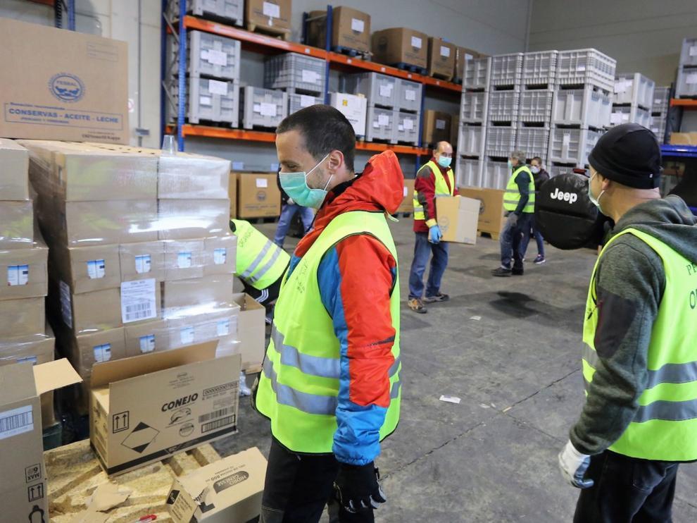 Más de 46.000 kilos de comida llegarán a casi 3.300 oscenses