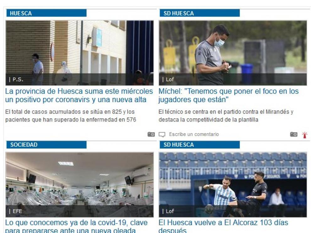Diariodelaltoaragón.es recibe más de 300.000 usuarios con un crecimiento anual que ronda un 70 %