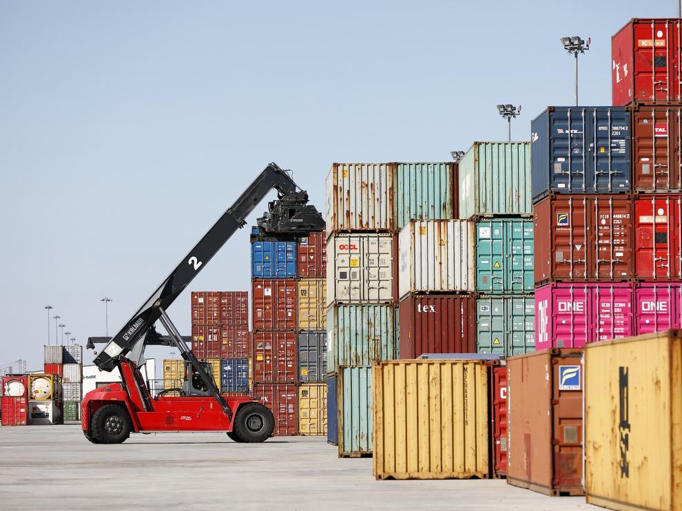 Las exportaciones aragonesas se reducen en abril por el impacto negativo de la covid-19