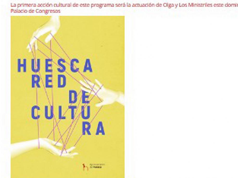 """""""Huesca Red de Cultura"""" arranca con nueva imagen y la actuación de Olga y Los Ministriles"""