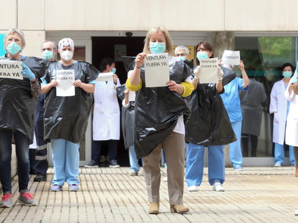 El 4 % de los enfermeros de Aragón ha tenido coronavirus
