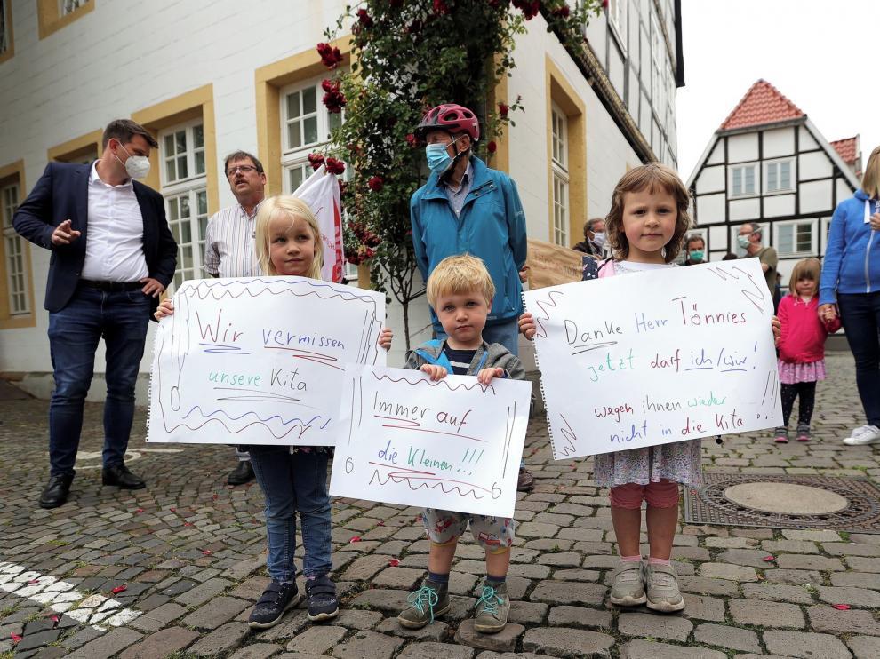 Varios brotes de covid salpican Alemania en la desescalada