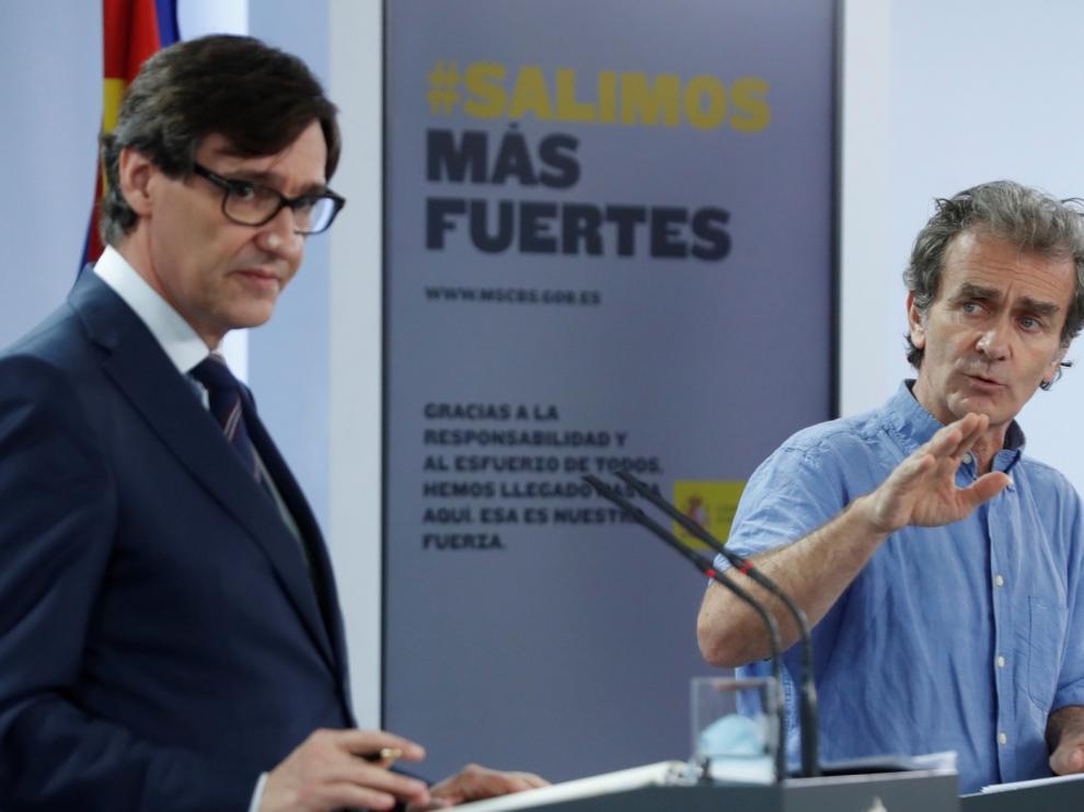 Sanidad actualiza los datos y muestra que en España han fallecido, hasta el jueves, 28.313 personas