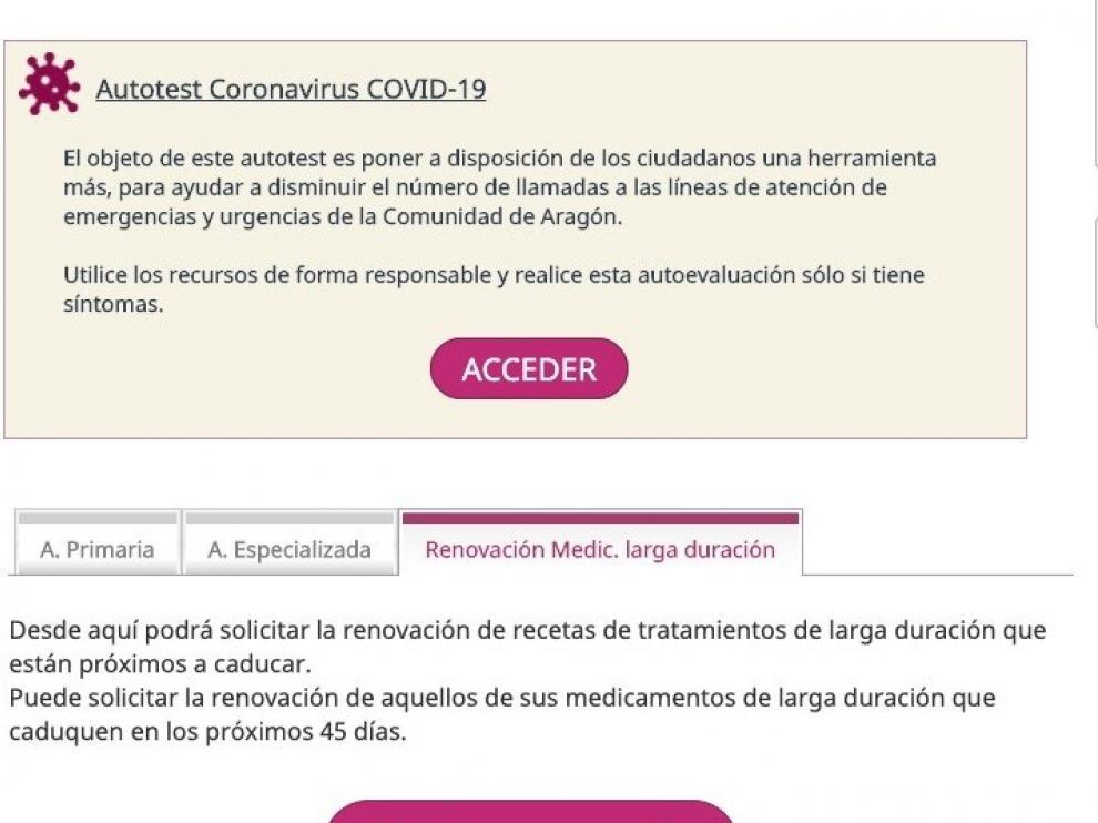 Salud Informa habilita la solicitud de cita no presencial para renovar la receta electrónica