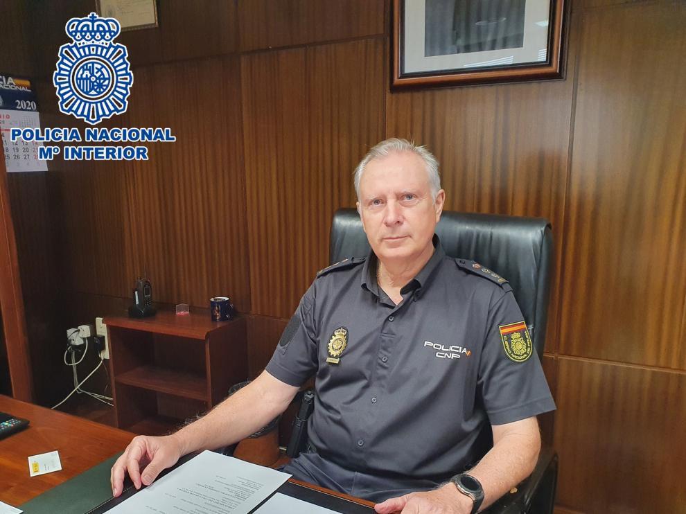 El comisario Álvaro Rodríguez, nombrado nuevo jefe de la Comisaría Provincial de Huesca