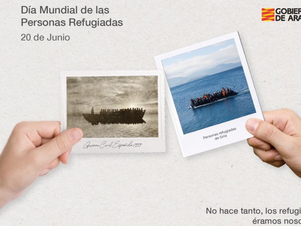 Aragón se compromete a seguir trabajando en las políticas de acogida en el Día Mundial de las Personas Refugiadas