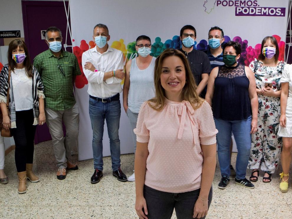 Maru Díaz adelanta que habrá cambios en Podemos Aragón tras las primarias