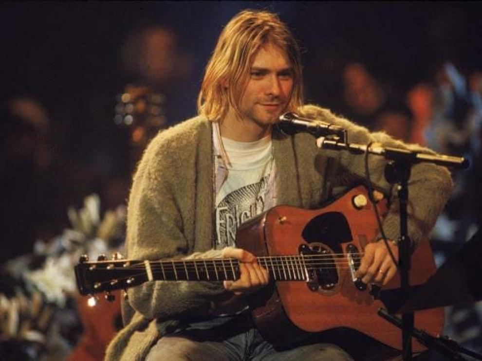 Una guitarra de Cobain, valorada en más de un millón