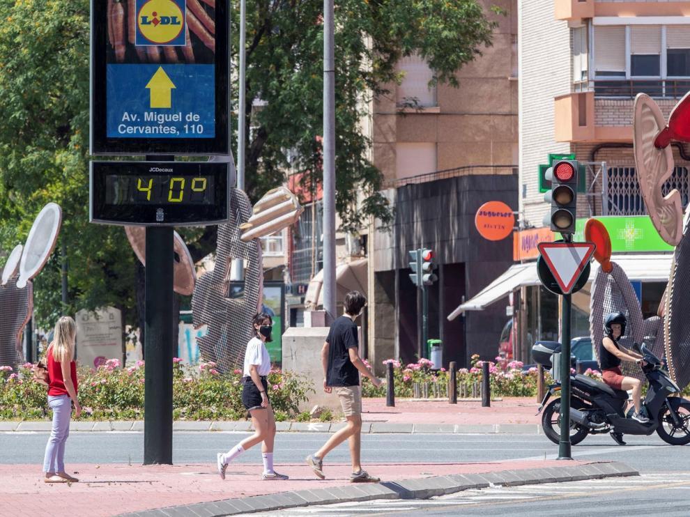 La entrada de aire africano disparará los termómetros