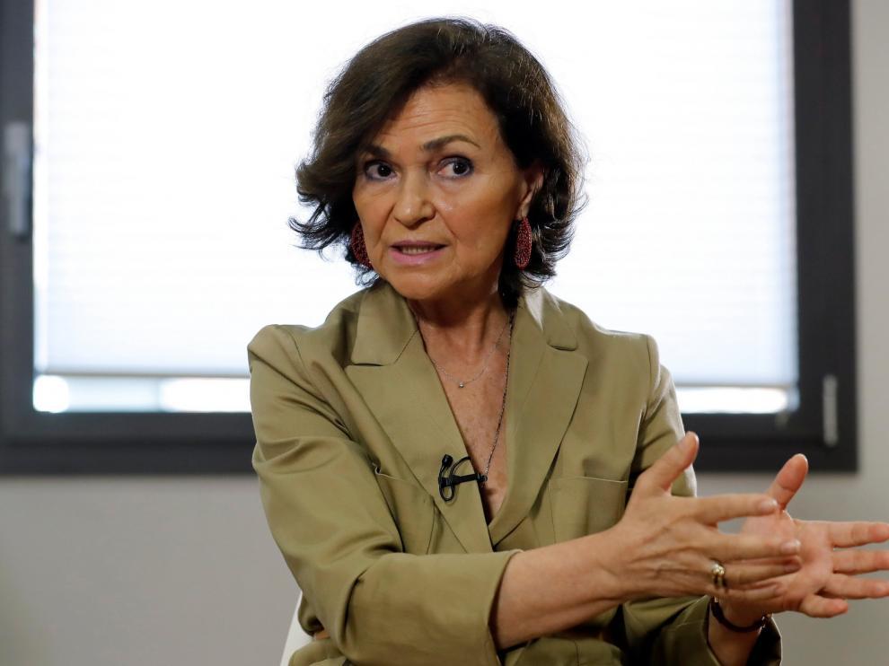 """Carmen Calvo afirma que el Gobierno no merecía el """"acoso"""" vivido en el estado de alarma"""