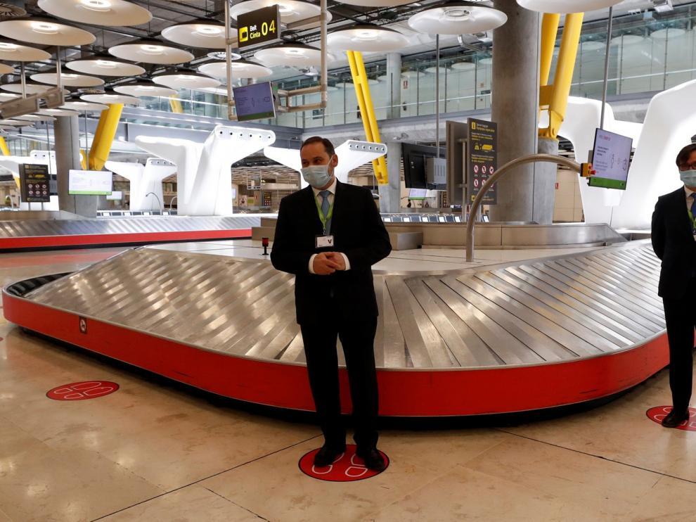 España recibe este sábado más de 100 vuelos