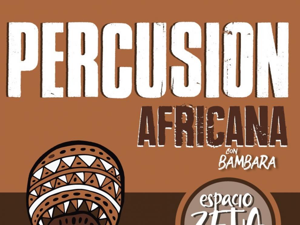 El Espacio Zeta acoge un taller de percusión africana para jóvenes