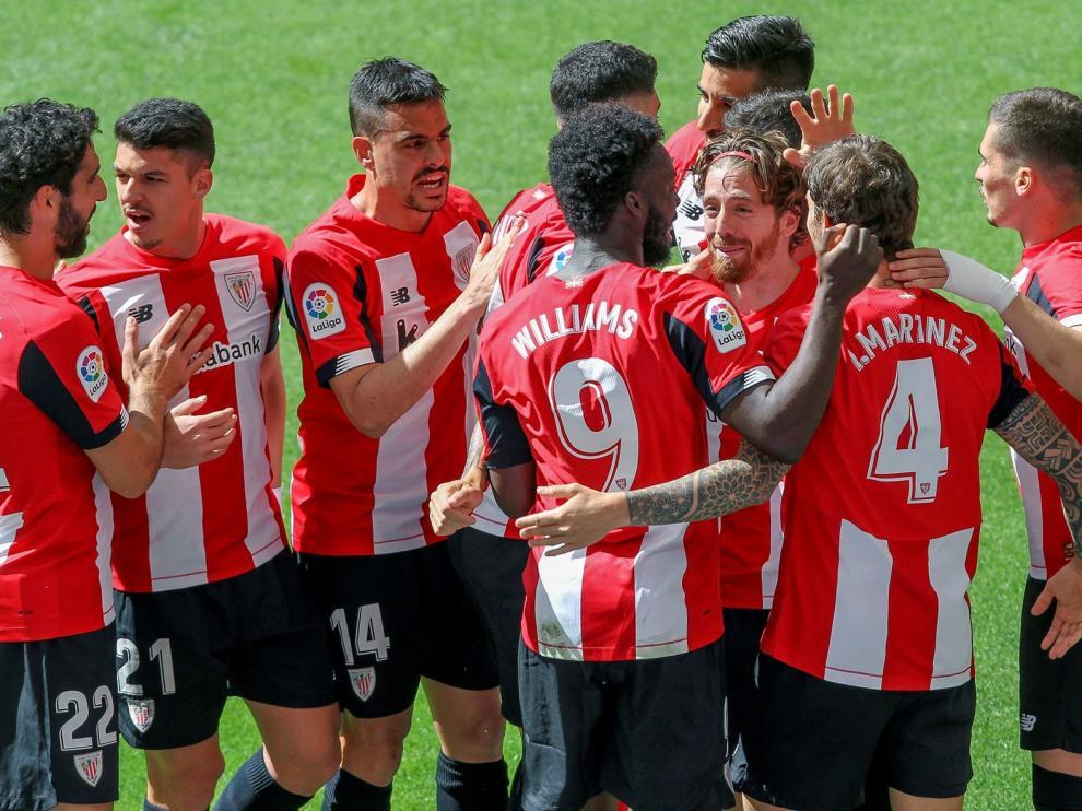 El Athletic sueña con Europa y hunde a Rubi