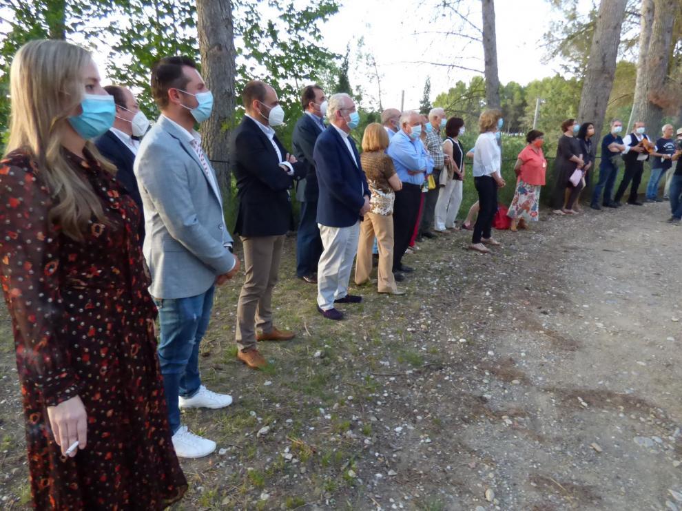 Barbastro celebra la festividad de San Ramón cumpliendo con los protocolos de distanciamiento y seguridad