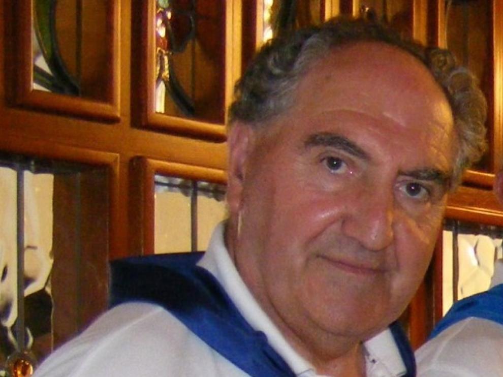 Fallece Esteban Gavín, uno de los socios más veteranos de la Peña Ferranca de Barbastro