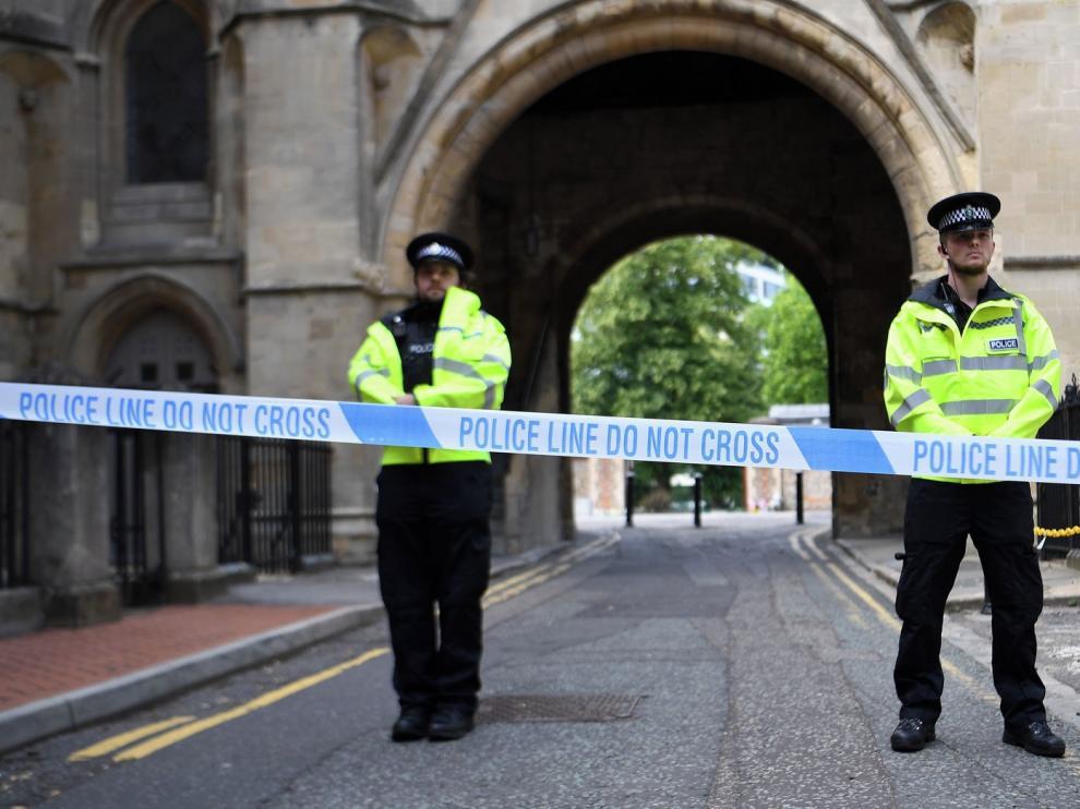 Un ataque terrorista deja tres fallecidos en Reino Unido
