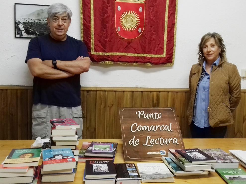 El Alto Gállego pone en marcha un nuevo punto de lectura en Piedrafita