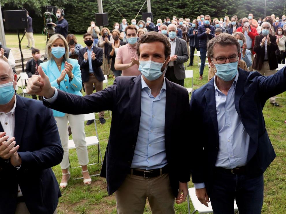"""Pablo Casado exige """"la verdad"""" sobre el número de víctimas"""