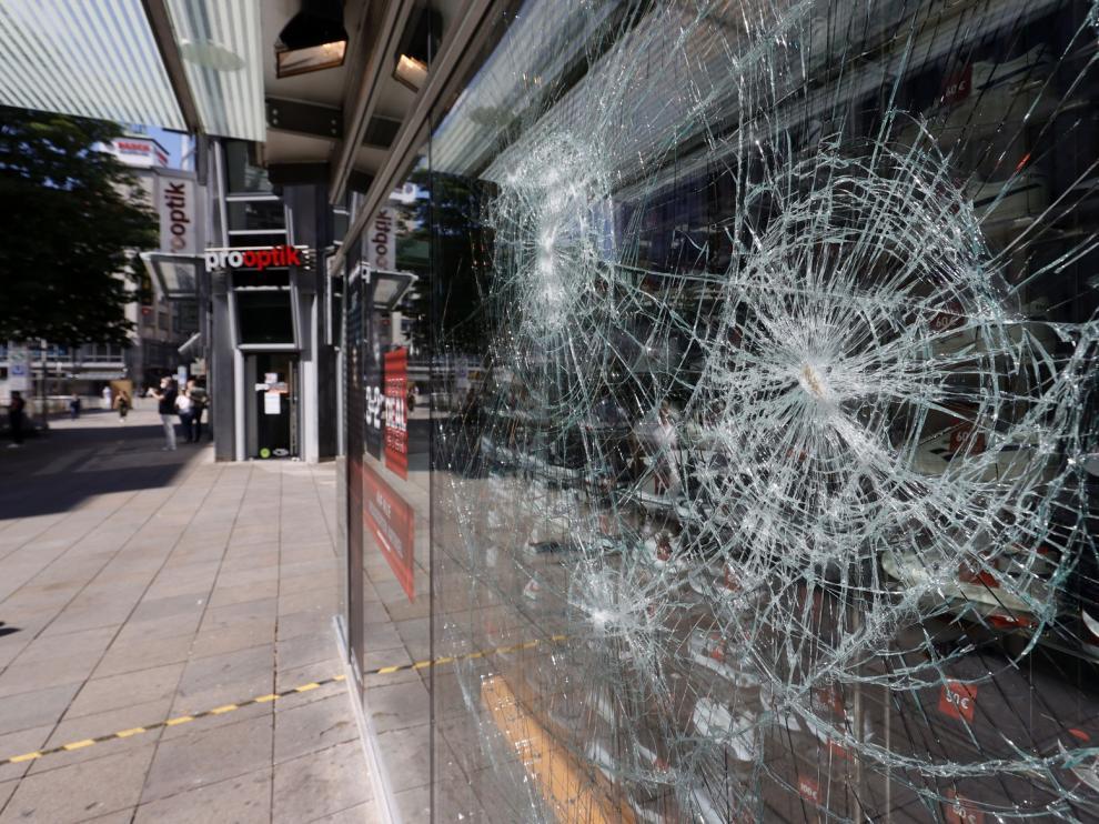 Noche de disturbios en Alemania tras unos controles antidroga