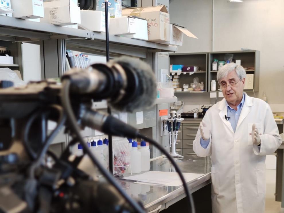 """""""En ruta con la ciencia"""" reúne este lunes a los científicos aragoneses que luchan contra el coronavirus"""