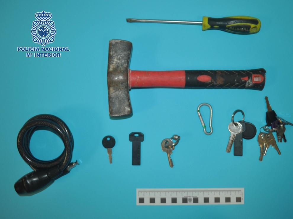 La Policía Nacional de Huesca detiene al autor de siete robos con fuerza en viviendas y trasteros