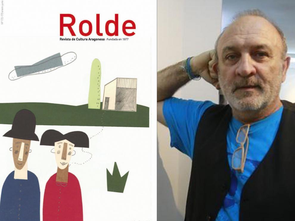 Antonio Santos ilustra la portada del nuevo número de Rolde