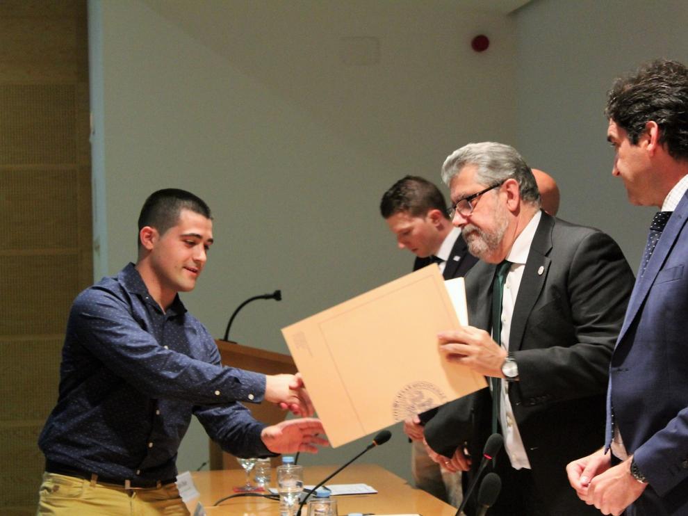 El Campus de Huesca premia a dieciocho estudiantes por sus expedientes destacados