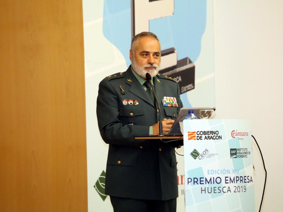 Carlos Crespo, general de División