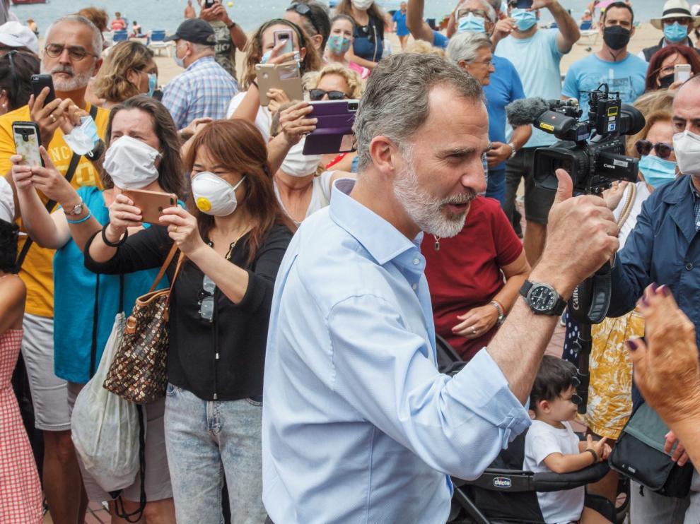 El Rey lanza en Canarias un mensaje de ánimo hacia el turismo