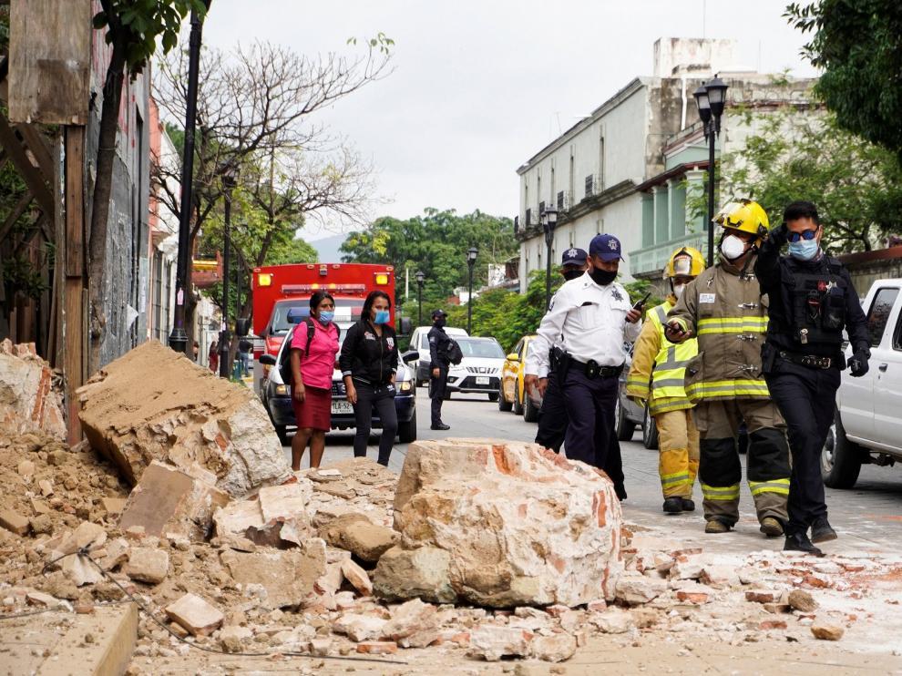 Un seísmo de 7,5 grados sacude México y deja al menos cuatro fallecidos