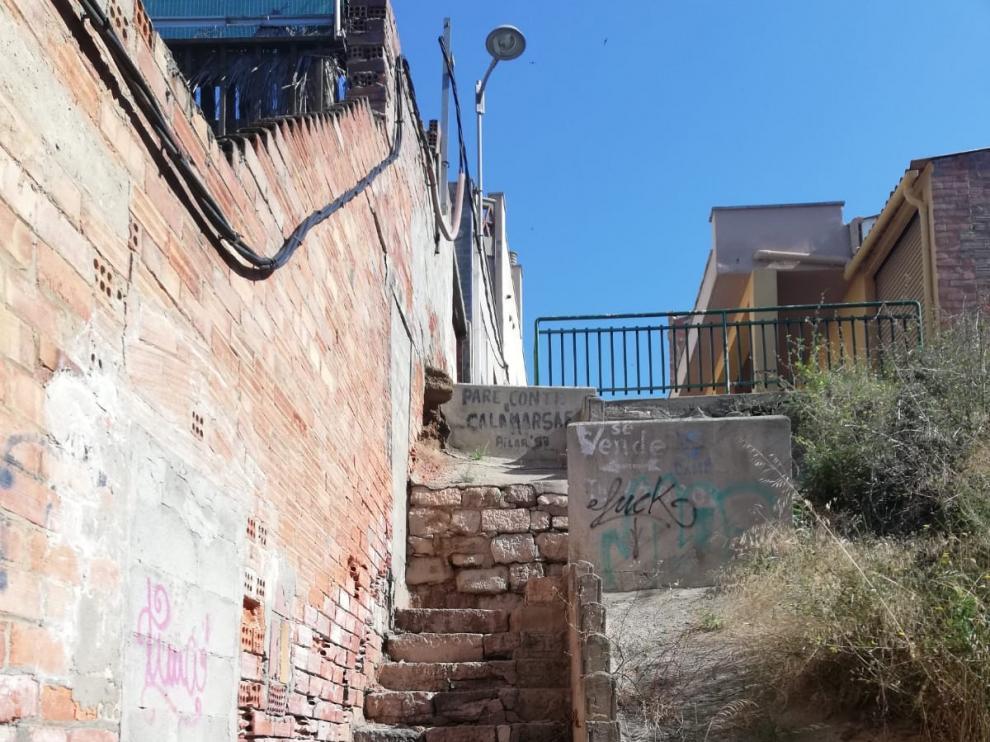 El ayuntamiento de Fraga inicia las obras en la calle Hecho