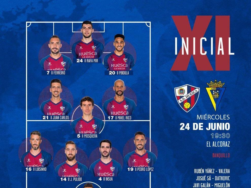 Al Huesca se le viene el mundo encima en el descuento (1-1)