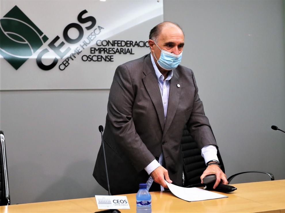 """Ceos Huesca pide """"respeto"""" para el tejido empresarial"""