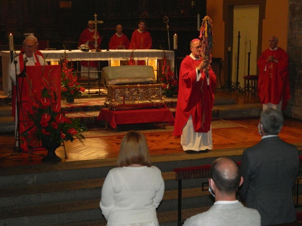 Atípica veneración en honor a Santa Orosia en Jaca