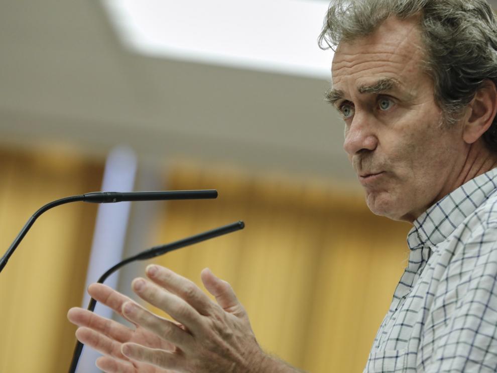 Fernando Simón, preocupado por el rebrote de Huesca