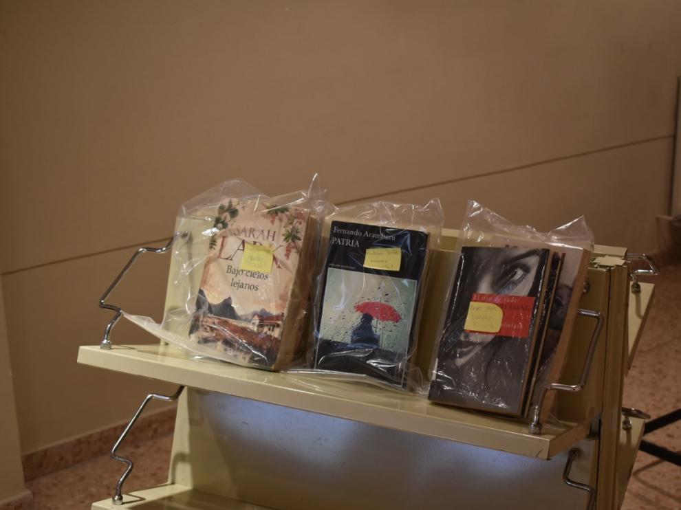 La biblioteca de Monzón regresa a la Casa de la Cultura