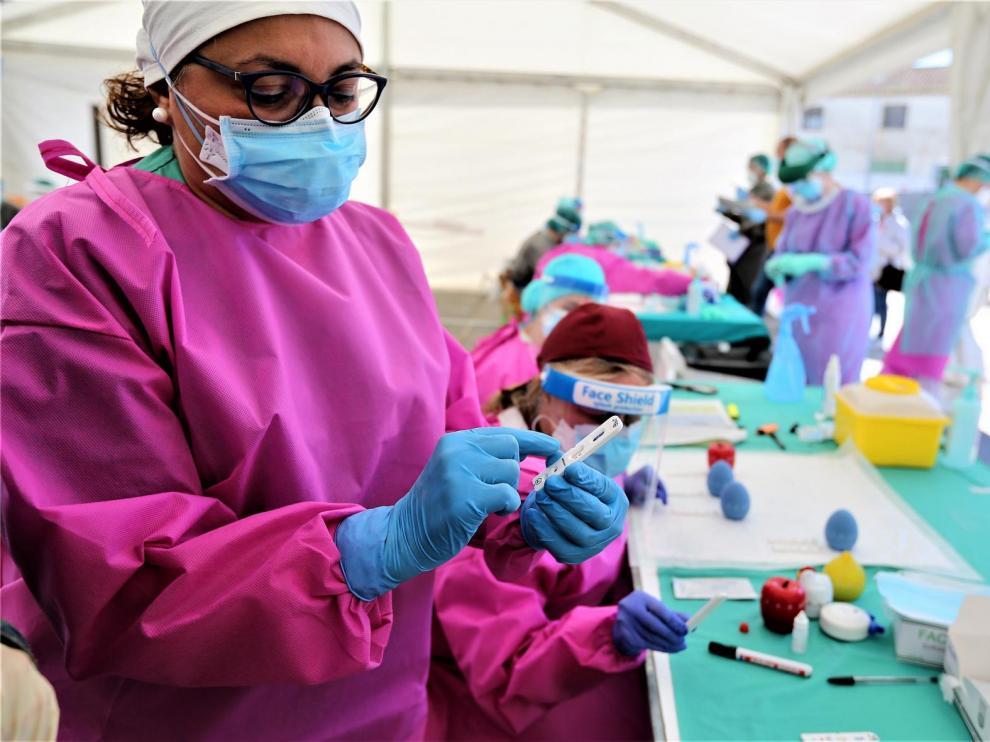 La provincia de Huesca suma 49 casos más de coronavirus, 25 de ellos en las comarcas de la zona oriental