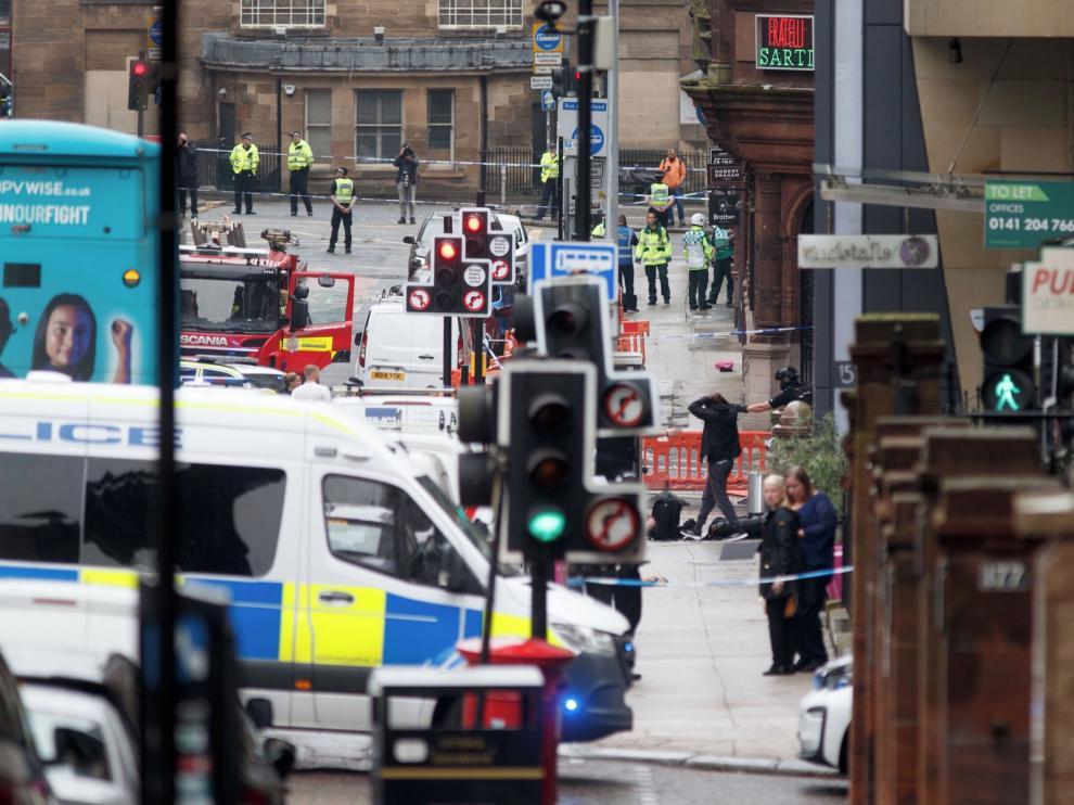 Seis personas heridas en un apuñalamiento múltiple en Glasgow