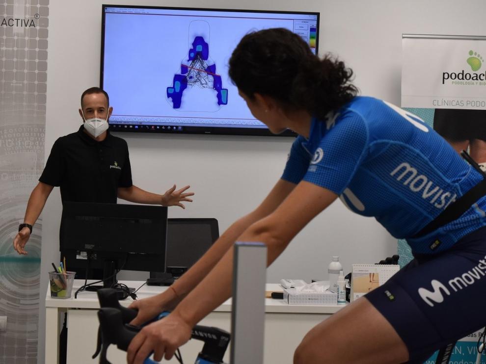 Podoactiva asiste a los deportistas del Movistar