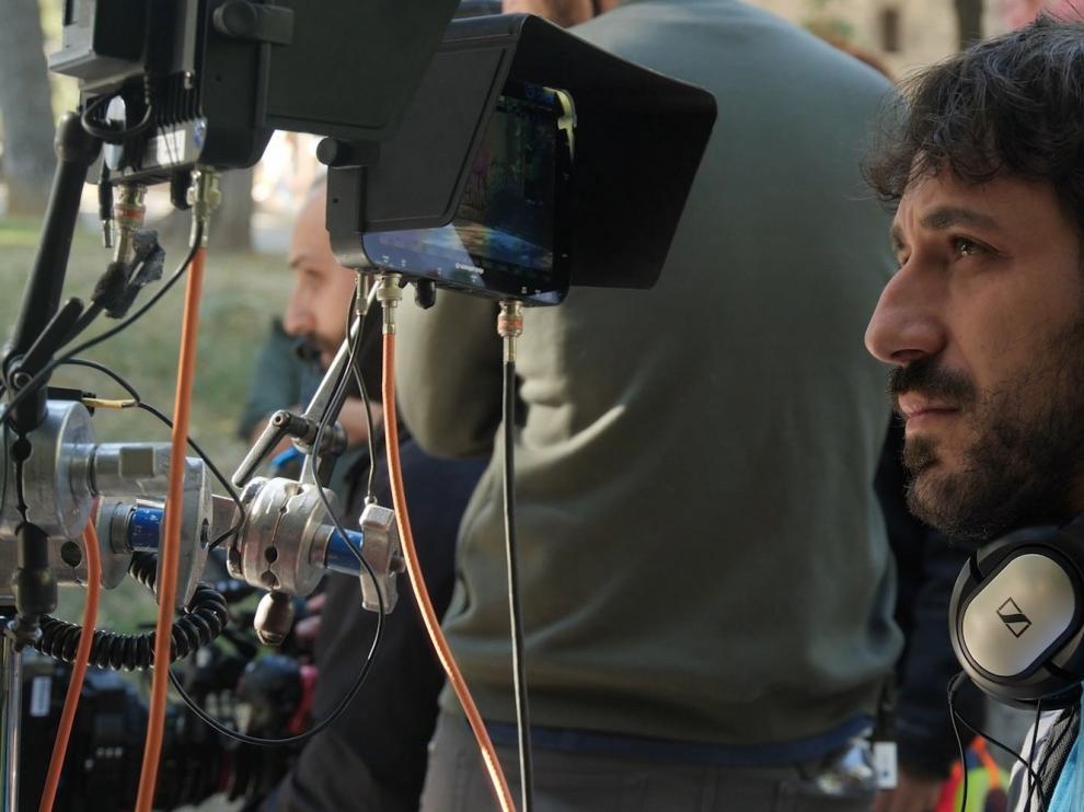 Los cortos sobre la crisis del coronavirus producidos por Aragón TV, en rodaje
