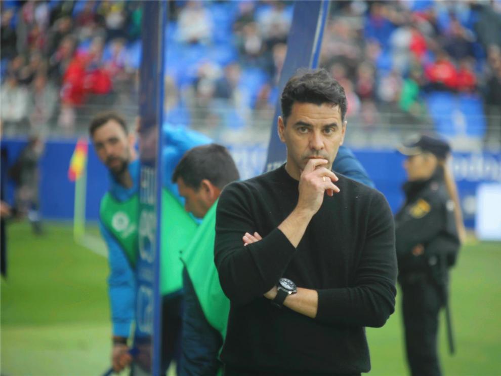 """Míchel: """"Si somos capaces de ganar al Zaragoza, daremos un golpe encima de la mesa"""""""